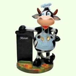 Садовая фигура Корова повар