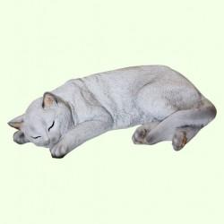 Садовая фигура Кошка спящая