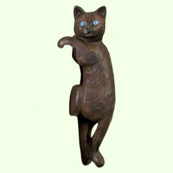 Садовая фигура Кот висячий
