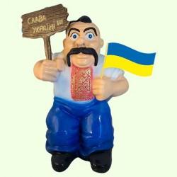 Садовая фигура Козак патриот
