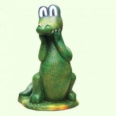 Садовая фигура Крокодил Гена