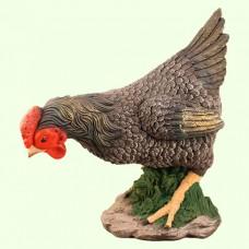 Садовая фигура Курица чернушка