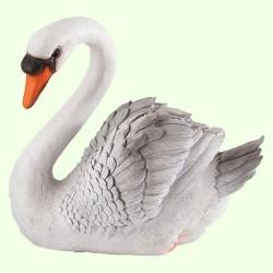 Садовая фигура Лебедь шипун