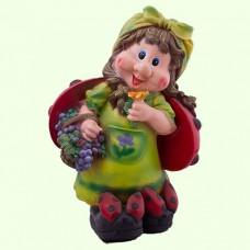 Садовая фигура Майя с виноградом