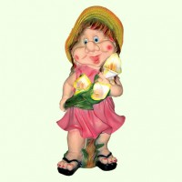 Садовая фигура Милашка