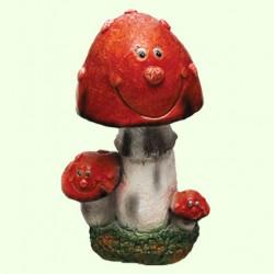 Садовая фигура Мухоморы веселые