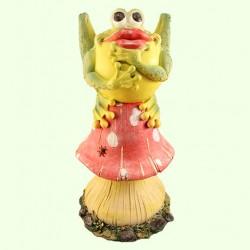 Садовая фигура Ропуха на грибе (Б)