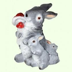 Садовая фигура Три зайца