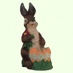 Садовая фигура Заяц пасхальный