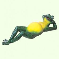 Садовая фигура Жаба на отдыхе