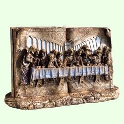 Статуэтка Иисус и двенадцать апостолов на тайной вечере