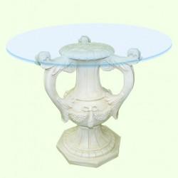 Стеклянный столик Амфора (М)