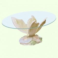 Стеклянный столик Бабочка