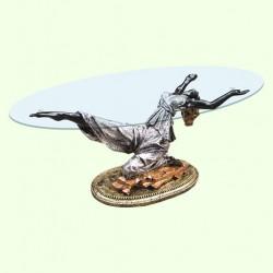 Стеклянный столик Балерина