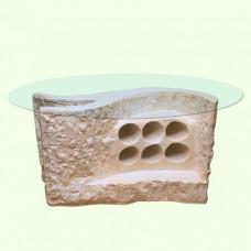 Стеклянный столик Бар
