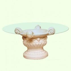 Стеклянный столик Чаша