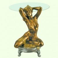 Стеклянный столик Ева