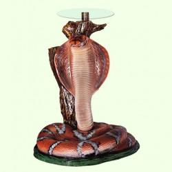 Стеклянный столик Кобра (Б)