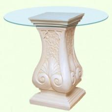 Стеклянный столик Колонна