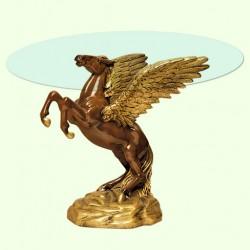 Стеклянный столик Пегас
