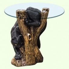 Стеклянный столик Пума (М)