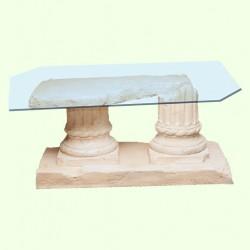 Стеклянный столик Руины