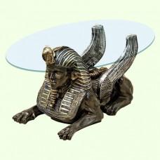 Стеклянный столик Сфинкс