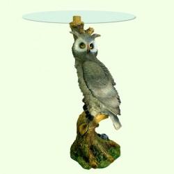 Стеклянный столик Сова (А)
