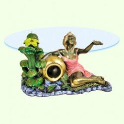 Стеклянный столик Виола