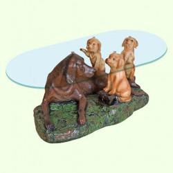 Стеклянный столик Забота