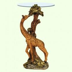 Стеклянный столик Жираф (А)